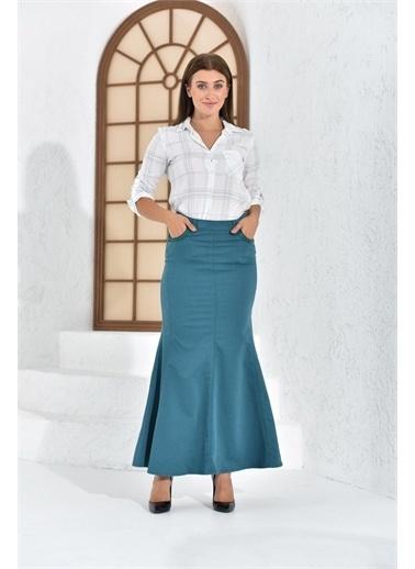 Rodi Jeans Kadın Balık Model Uzun Etek Ty16Yb071805 Renkli